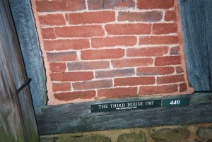 """House Number Three, built 1767 (""""Reconstructed"""")"""