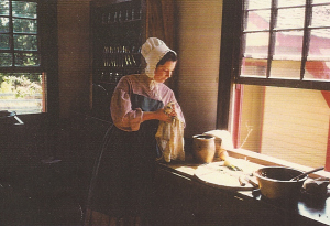 Dr Campbell kitchen at CP c 1991